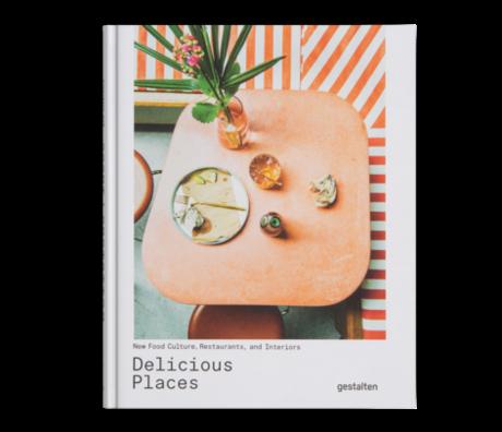 Gestalten Buch Delicious Places mehrfarbiges Papier 21x26cm