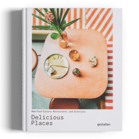 Gestalten Livre Delicious Places papier multicolore 21x26cm