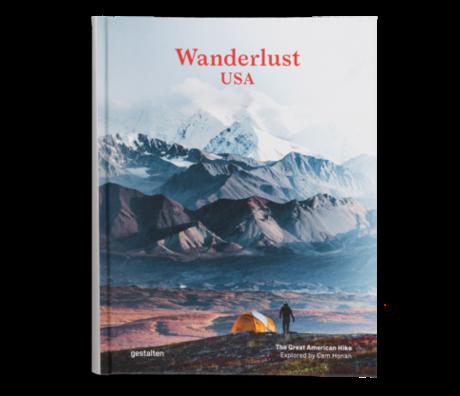 Gestalten Livre Wanderlust USA papier multicolore 22,5x29cm