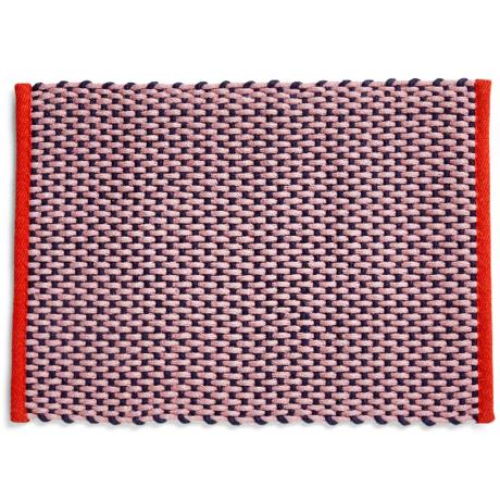HAY Doormat pink textile 50x70cm