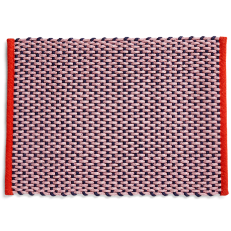 HAY Fußmatte rosa Textil 50x70cm