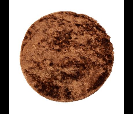 BePureHome Vloerkleed Praline syrup pes Ø200cm