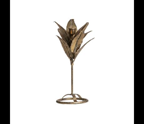 BePureHome Kandelaar Fizz goud metaal 32x14x14cm