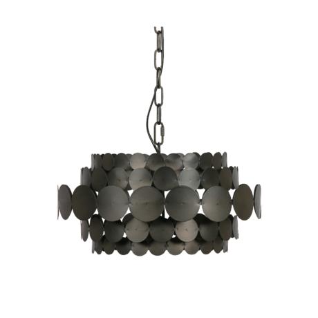 WOOOD Hanglamp Kaki zwart metaal 26x46x46cm