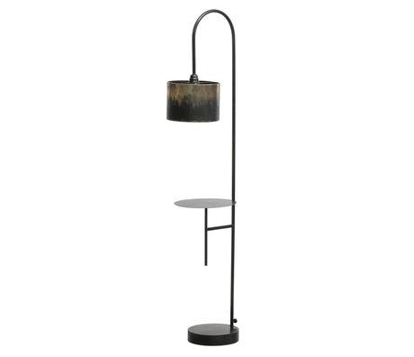 BePureHome Staande lamp Blackout zwart metaal 160x30x43cm