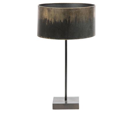 BePureHome Tafellamp Balckout zwart metaal 56x34x34cm