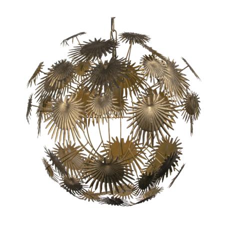 BePureHome Hanglamp Atom goud metaal 55x55x56cm