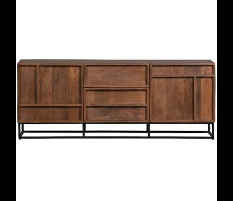 WOOOD Tv meubel Forrest mango hout 54x140x42cm