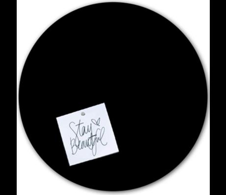 Groovy Magnets Chalkboard magnetic sticker black self-adhesive vinyl ø60cm