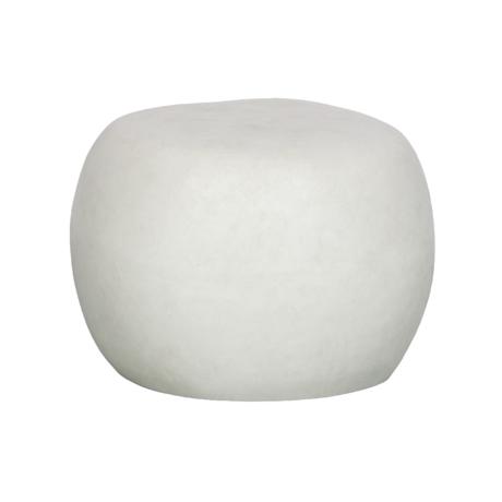 vtwonen Bijzettafel Pebble wit betonlook 35xØ50cm