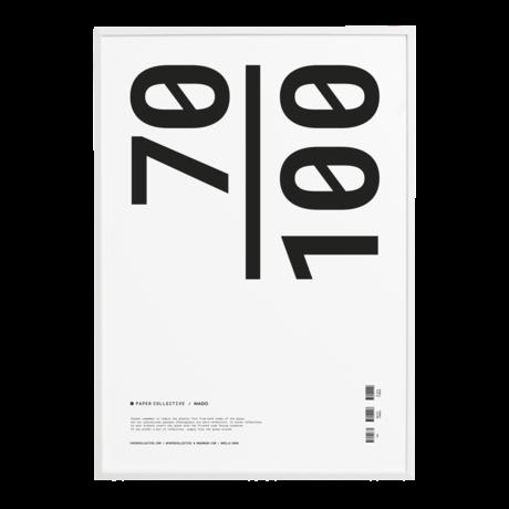 Paper Collective Cadre photo bois de pin blanc 70x100cm