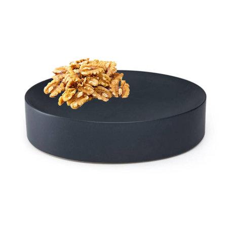 FÉST Dish Dixon schwarz matt Keramik M Ø26,5x6cm