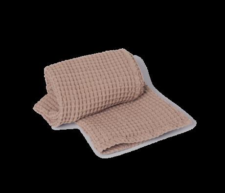 Ferm Living Handtuch Bio Dusty Pink Baumwolle 70x140cm