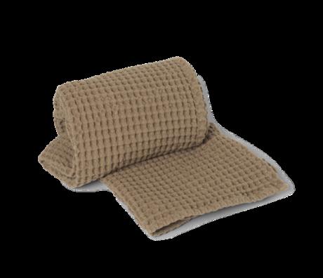 Ferm Living Handdoek Organic Tan bruin katoen 70x140cm