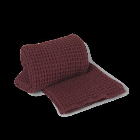 Ferm Living Handdoek Organic  Cinnamon bruin katoen 70x140cm