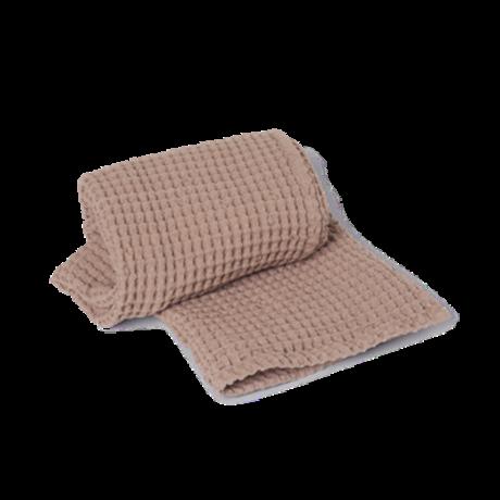 Ferm Living Guest towel Organic dusty pink cotton 50x100cm