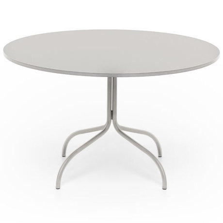 FÉST Dining table friday round beige metal 72x120x120cm