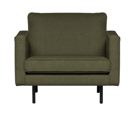 BePureHome Fauteuil stretched Rodeo groen 85x105x86cm