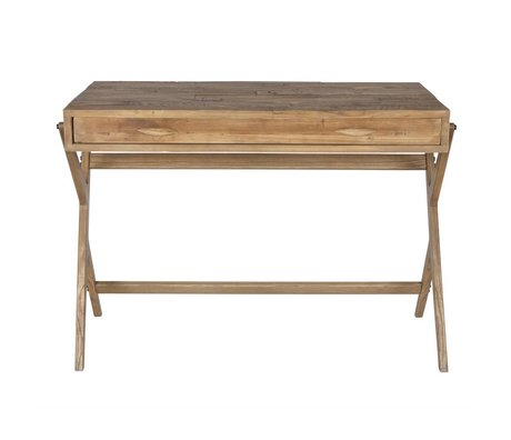 BePureHome Writing desk natural pine 78x110x55cm