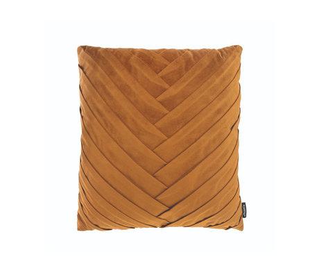 Riverdale Wurfkissen Vorabend Gold Polyester 45x45x19cm