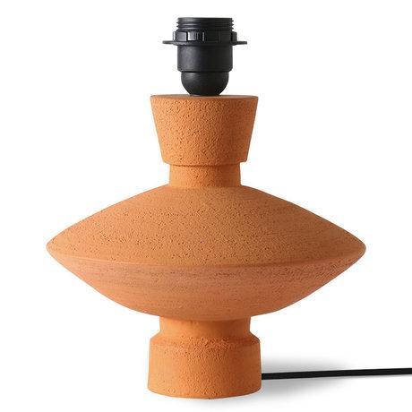 HK-living Lampenvoet terra aardewerk 22x22x26cm