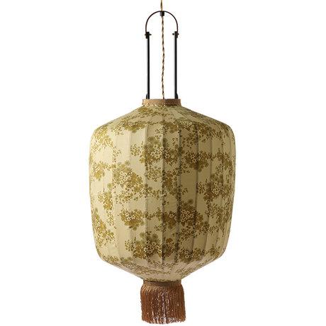 HK-living Lantern L Doris for Hkliving vintage print cotton 42x42x52 / 92cm