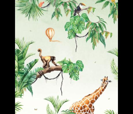 Creative Lab Amsterdam Monkey Jungle Wallpaper Mural 3mx2.80