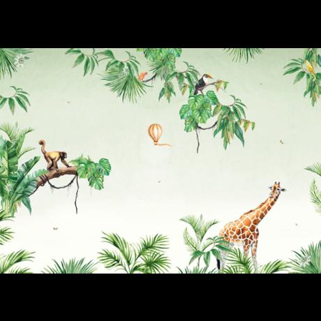 Creative Lab Amsterdam Monkey Jungle Wallpaper Mural 4mx2.80