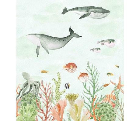 Creative Lab Amsterdam Sealife Coral Mural 2mx2.80