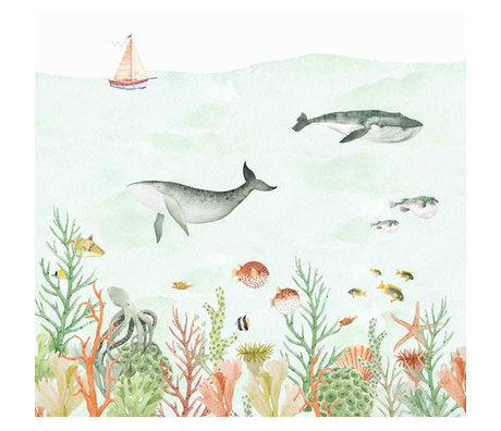Creative Lab Amsterdam Sealife Coral Mural 3mx2.80