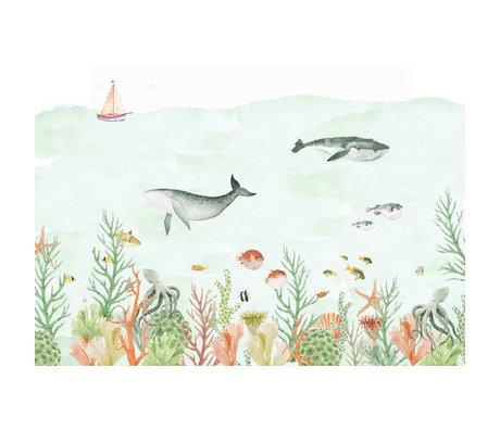 Creative Lab Amsterdam Sealife Coral Mural 4mx2.80