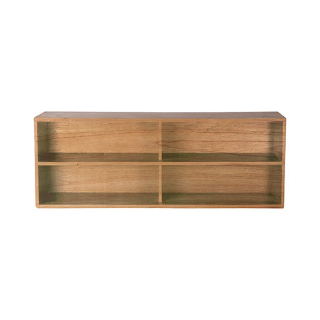 HK-living Kabinet module shelving element A naturel bruin 100x30x36cm