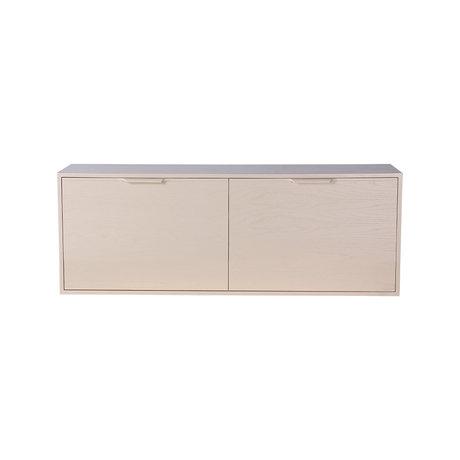 HK-living Kabinet module drawer element B zand bruin 100x30x36cm