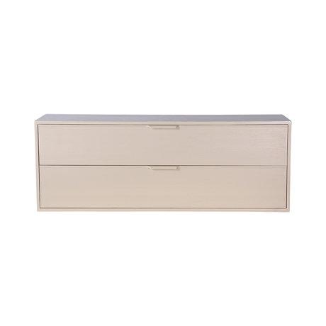 HK-living Cabinet module drawer element C sand brown 100x30x36cm