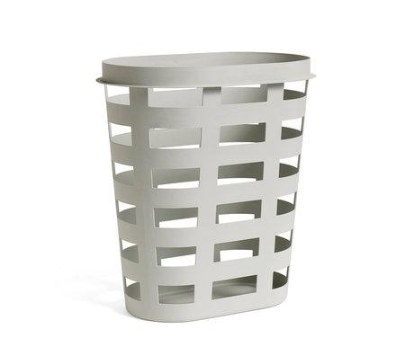 HAY wasmand basket L lichtgrijs plastic 57,5x37,5x62cm