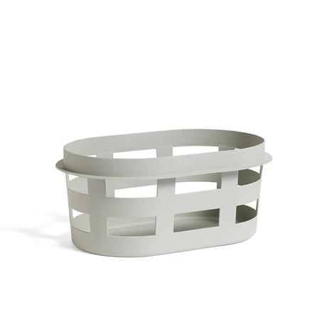 HAY wasmand basket s lichtgrijs plastic 57,5x37,5x24cm