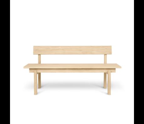 Ferm Living Bank Peka Naturel hout 59x150x75,5cm
