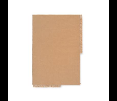 Ferm Living Vloerkleed Hem Medium Zand Textiel 140x200cm