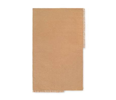 Ferm Living Vloerkleed Hem Large Zand Textiel 250x160cm