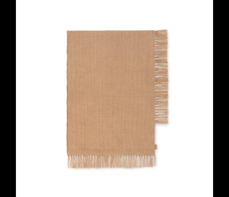 Ferm Living Vloerkleed Hem Zand Textiel 70x50cm