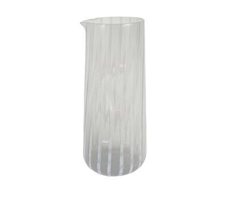OYOY Karaf Mizu Transparant glas Ø10x23cm