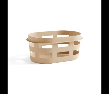 HAY Wasmand Basket S Beige Kunststof 57,5x37,5x24,5cm