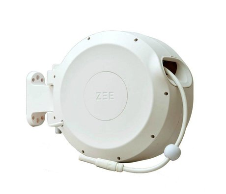 ZEE Mirtoon hose reel 30m white
