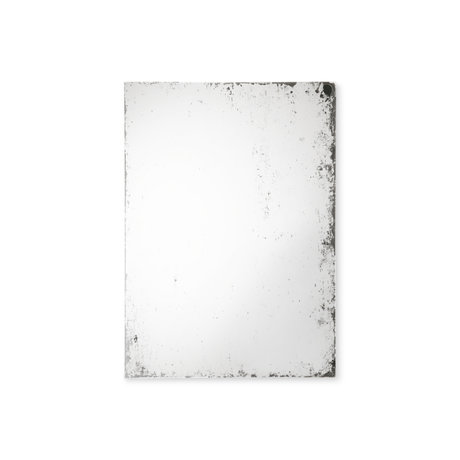 HK-living Spiegel Antique Look L Glas MDF 60x2x80cm