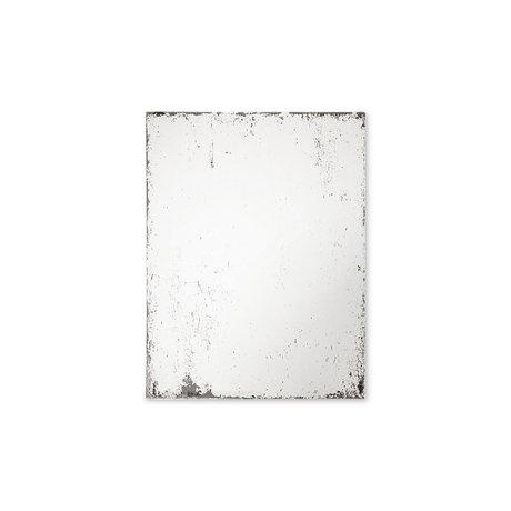 HK-living Spiegel Antique Look M Glas MDF 40x2x50cm