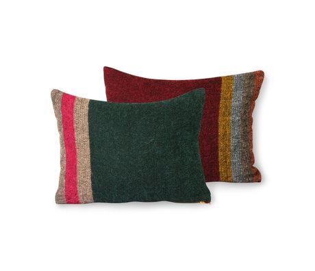 HK-living Sierkussen Doris Colourful Multicolor Textiel 30x40cm