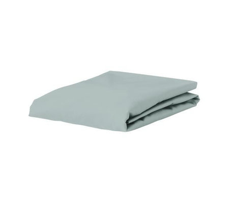ESSENZA Hoeslaken Premium Jersey Fitted Sheet Lichtgroen Katoen 90/100x200/220cm