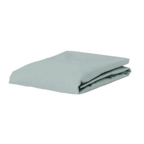 ESSENZA Hoeslaken Premium Jersey Fitted Sheet Lichtgroen Katoen 180/200x200/220cm