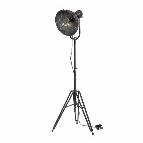 BePureHome Stehlampe Scheinwerfer anthrazit Metall 167x54x45cm