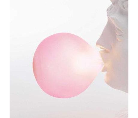 Seletti Bulb Wonder Roze Glas
